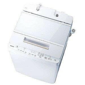 東芝 全自動洗濯機(洗濯9.0kg) AW−9SD6−W (グランホワイト)(標準設置無料)