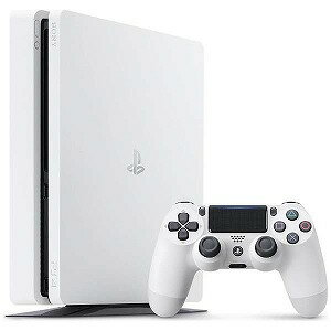 ソニー・コンピュータエンタテインメント PlayStation 4 (プレイステーション4) 本体 グレイシャー・ホワイト 500GB CUH−2100AB02(送料無料)