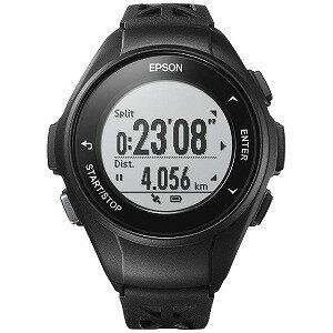 EPSON GPSランニングウオッチ 「WristableGPS」 Q−10B ブラック