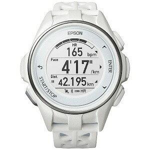 EPSON GPSランニングウオッチ 「WristableGPS」  J−300W ホワイト(送料無料)