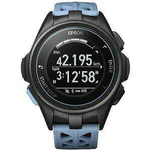 EPSON GPSランニングウオッチ 「WristableGPS」  J−300T ターコイズブルー(送料無料)