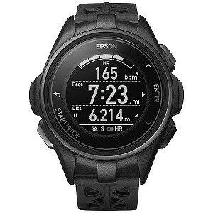 EPSON GPSランニングウオッチ 「WristableGPS」 J−300B ブラック(送料無料)