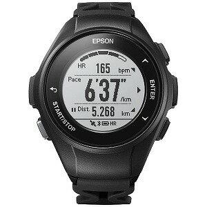 EPSON GPSランニングウオッチ 「WristableGPS」  J−50B ブラック(送料無料)