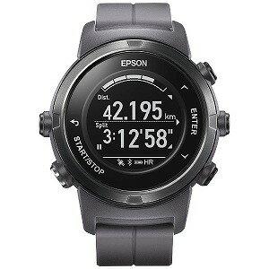 EPSON GPSランニングウオッチ 「WristableGPS」 J−350F フロスティグレー(送料無料)
