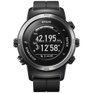 EPSON GPSランニングウオッチ 「WristableGPS」 J−350B ブラック(送料無料)