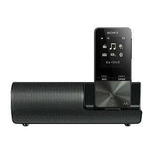 ソニー デジタルオーディオプレーヤー WALKMAN S310シリーズ (ブラック/4GB) スピーカー付属 NW−S313K BC 【ワイドFM対応】