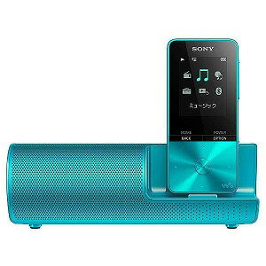 ソニー デジタルオーディオプレーヤー WALKMAN S310シリーズ (ブルー/4GB) スピーカー付属 NW−S313K LC 【ワイドFM対応】(送料無料)