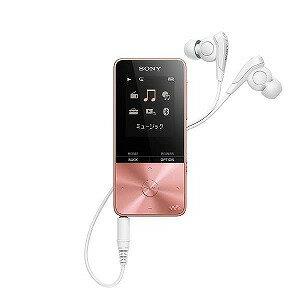 ソニー デジタルオーディオプレーヤー WALKMAN S310シリーズ (ピンク/4GB) NW−S313 PIC 【ワイドFM対応】(送料無料)