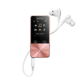ソニー デジタルオーディオプレーヤー WALKMAN S310シリーズ (4GB) NW−S313−PI ピンク
