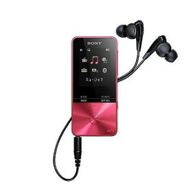 ソニー デジタルオーディオプレーヤー WALKMAN S310シリーズ (16GB) NW−S315−P ビビッドピンク