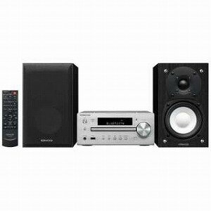 ケンウッド 【ハイレゾ音源対応】Bluetooth対応 ミニコンポ(シルバー) K−515−S 【ワイドFM対応】(送料無料)