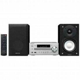 ケンウッド 【ハイレゾ音源対応】Bluetooth対応 ミニコンポ(シルバー) K−515−S 【ワイドFM対応】