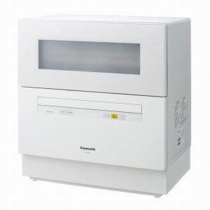 パナソニック 食器洗い乾燥機(5人用・食器点数40点) NP−TH1−W(送料無料)