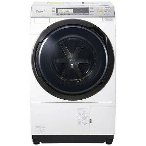 パナソニック ドラム式洗濯乾燥機 (洗濯10.0kg・左開き)「VXシリーズ」 NA−VX7800L−W クリスタルホワイト (洗濯槽自動お掃除・ヒートポンプ乾燥機能付)(標準設置無料)