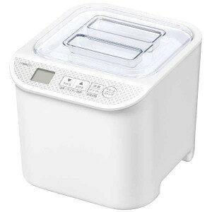 山善 発酵食メーカー 「発酵美人」(1000ml) YXA−100−W ホワイト