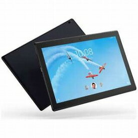LENOVO Android 7.1タブレット [10.1型・Qualcomm・ストレージ 16GB・メモリ 2GB] Lenovo TAB4 10 スレートブラック ZA2J0039JP