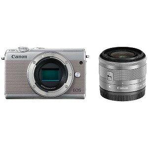 Canon ミラーレス一眼カメラ EF−M15−45 IS STM レンズキット EOS M100(送料無料)