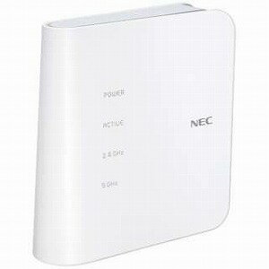 NEC 無線LANルータ 親機単体 Wi−Fi 無線ac/n/a/g/b・有線LAN/WAN・Mac/Win/iOS/Android] 867+300Mbps PA−WF1200CR