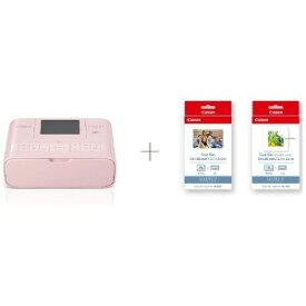 Canon コンパクトフォトプリンター SELPHY セルフィー ピンク カードプリントキット CP1300CARDPRINTKIT(PK)