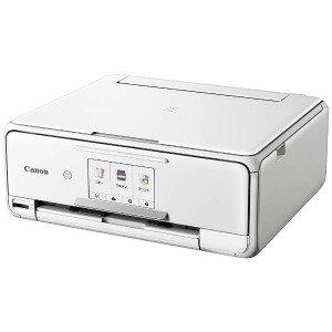 Canon インクジェット複合機 PIXUSTS8130WH(送料無料)