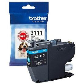 ブラザー brother 【純正】インクカートリッジ シアン[対応型番:DCP−J982N、DCP−J582N 他] LC3111C