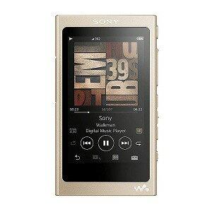 ソニー 「ハイレゾ音源対応」ウォークマン WALKMAN Aシリーズ 2017年モデル(16GB) NW−A45 NM (ゴールド)[イヤホンは付属していません](送料無料)