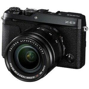 富士フィルム ミラーレス一眼カメラ レンズキット FUJIFILM X−E3 (ブラック)(送料無料)
