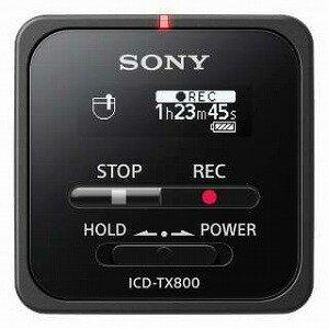 ソニー リニアPCMレコーダー 【16GB】 (ブラック) ICD−TX800 BC(送料無料)
