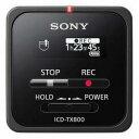 ソニー リニアPCMレコーダー 【16GB】 (ブラック) ICD−TX800 BC