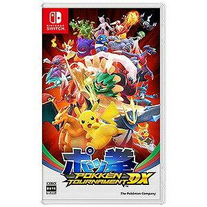 ポケモン SWITCHゲームソフト ポッ拳 POKKEN TOURNAMENT DX(送料無料)