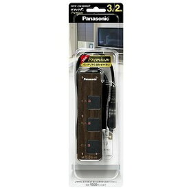 パナソニック 電源タップ (2ピン式・3個口・2.0m) ザ・タップFプレミアム WHF2323BMDP(BM
