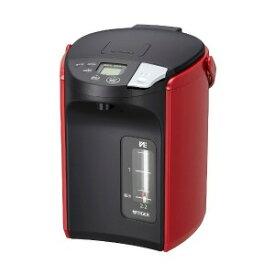 タイガー TIGER 電気ポット 「とく子さん」 [2.2L/電動式/まほうびん保温/蒸気レス] PIP−A220−R