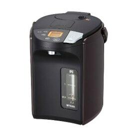 タイガー TIGER 電気ポット 「とく子さん」 [2.2L/電動&エアー式/まほうびん保温/蒸気レス] PIS−A220−T