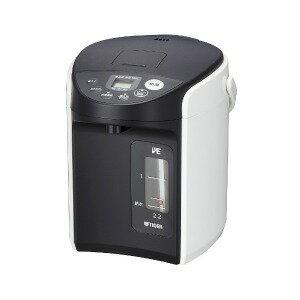 タイガー 電動給湯式電気ポット (2.2L)  PIQ−A220−W(送料無料)