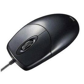 サンワサプライ 有線IR LEDマウス[USB 1.5m・Mac/Win]防水・抗菌(2ボタン・ブラック) MA−IR131BS