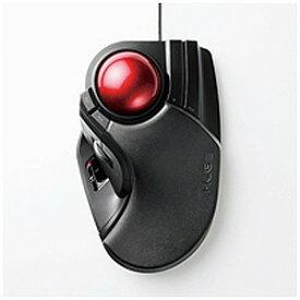 エレコム 有線トラックボールマウス[USB・Mac/Win](8ボタン・ブラック) M−HT1URBK