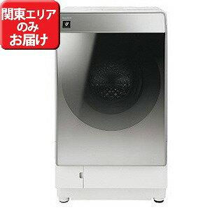 シャープ ドラム式洗濯乾燥機 (洗濯11.0kg/乾燥6.0kg・左開き) ES−P110−SL シルバー系(標準設置無料)