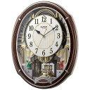 リズム時計工業 電波からくり時計 「スモールワールドアルディ」 4MN545RH23(送料無料)