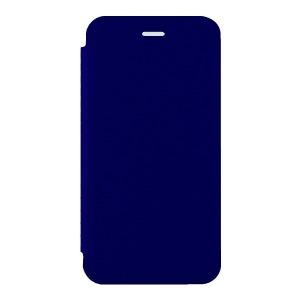 オウルテック iPhone X用 手帳型ケースPUx背面クリア TPU ネイビー  OWL−CVIP814NV