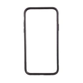 オウルテック iPhone X用 バンパーケース ハイブリット ブラック OWL−CVIP821BK
