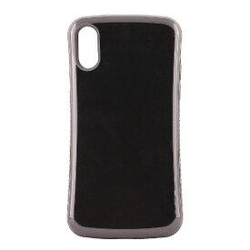 オウルテック iPhone X用 耐衝撃背面ケース ブラック OWL−CVIP831BK