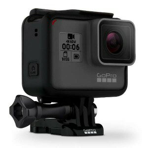 GOPRO マイクロSD対応 4Kムービー ウェアラブルカメラ GoPro(ゴープロ) CHDHX−601−FW HERO6 Black ブラックエディション(送料無料)