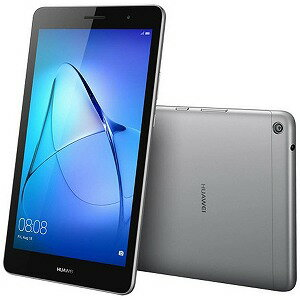 HUAWEI Android 7.0タブレット MediaPad T3 8 KOB−W09 スペースグレー (2017年8月モデル)(送料無料)