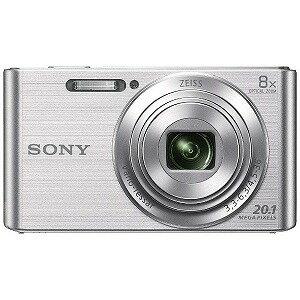 ソニー コンパクトデジタルカメラ Cyber−shot(サイバーショット) DSC−W830(シルバー)(送料無料)