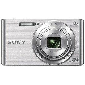ソニー SONY コンパクトデジタルカメラ Cyber−shot(サイバーショット) DSC−W830(シルバー)