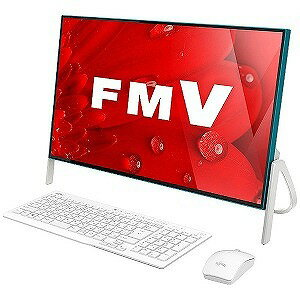 富士通 23.8型デスクトップPC ESPRIMO FH56/B3 FMVF56B3AB(ホワイト×アクアブルー)(送料無料)