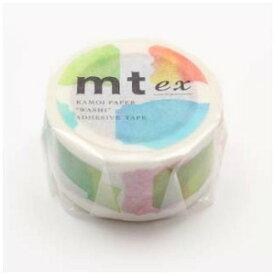 カモ井加工紙 mtマスキングテープ ex ラベル水彩 MTEX1P116