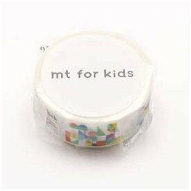 カモ井加工紙 mtマスキングテープ for kids 積み木 MT01KID026