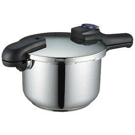 パール金属 《IH対応》クイックエコ 3層底切り替え式圧力鍋 5.5L H5042