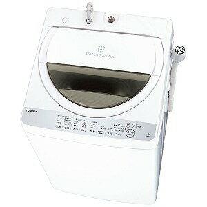 東芝 全自動洗濯機 (洗濯7.0kg) AW−7G6−W グランホワイト(標準設置無料)